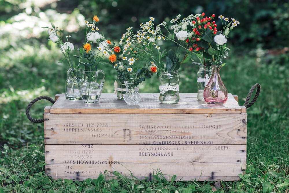 dekoration, hochzeit, hochzeitsdekoration, holzkisten, Hochzeitsverleih, Dekorationsverleih,