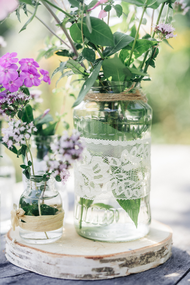 Glas, Blumenvase, Vintage, Glas im Vintageestil, hochzeitsdeko, dekoverleih rostock, schwerin, stralsund,