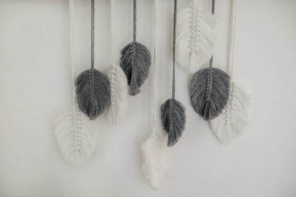 makramee, wandbehang, ausgeschmueckt (1)